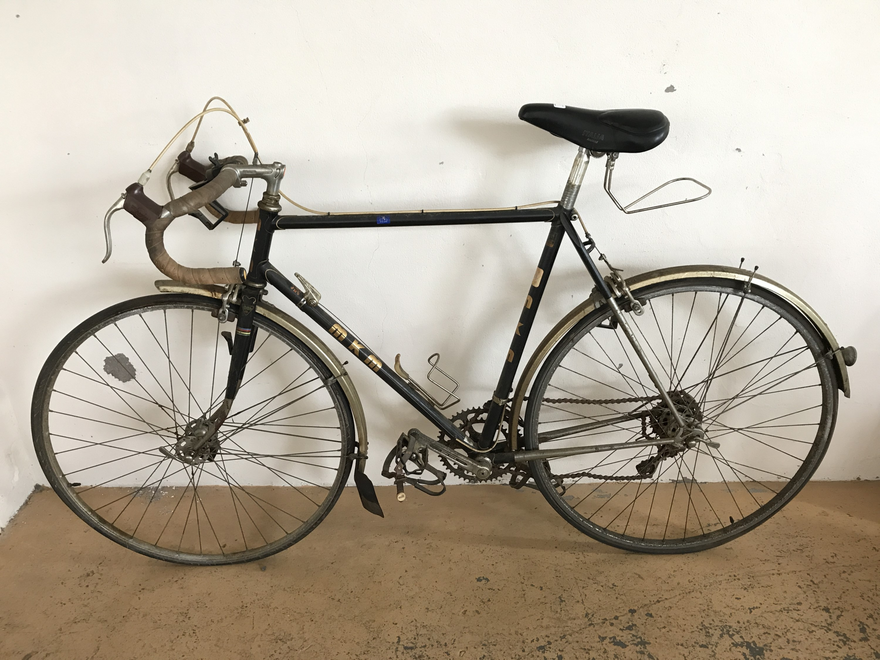 Lot 60 - An MKM Kodex racer bicycle, circa 1970s-1980s