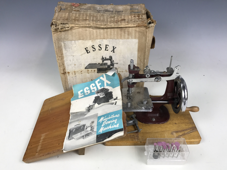 Lot 49 - A 1950's Essex compact sewing machine