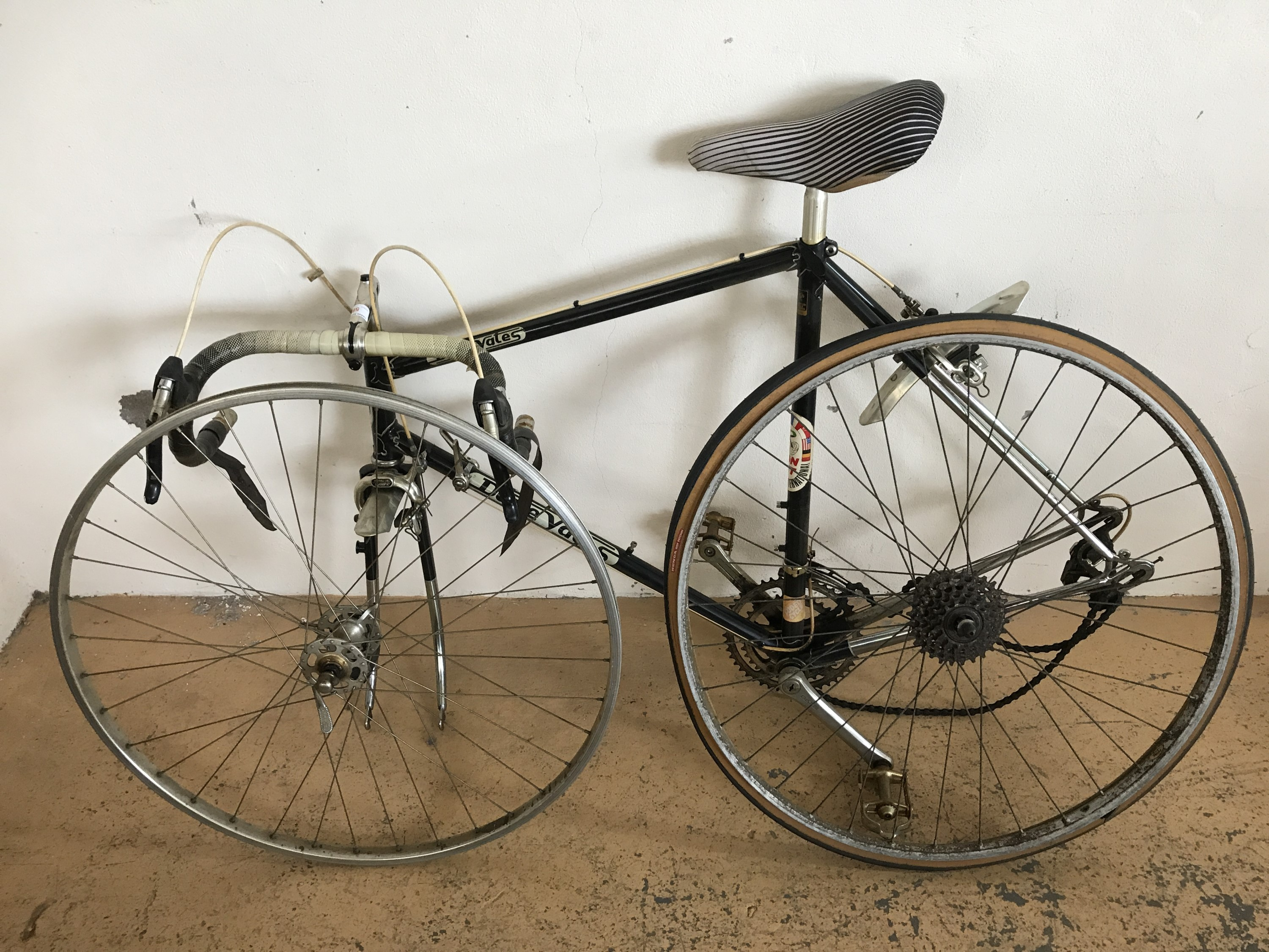 Lot 58 - A Dave Yates racer bicycle, in Reynolds 501 lightweight tubing, circa 1970s-1980s