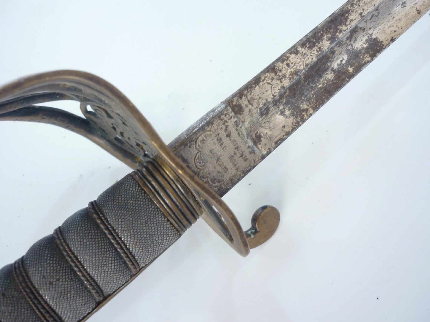 Lot 100 - An 1845 Pattern infantry officer's sword by Henry Wilkinson, Pall Mall