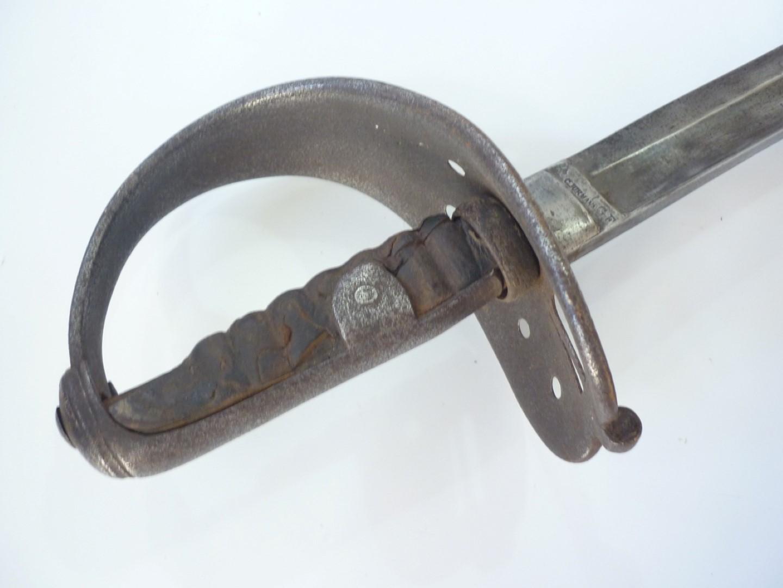 Lot 90 - An Austrian M'1850 cavalry sabre