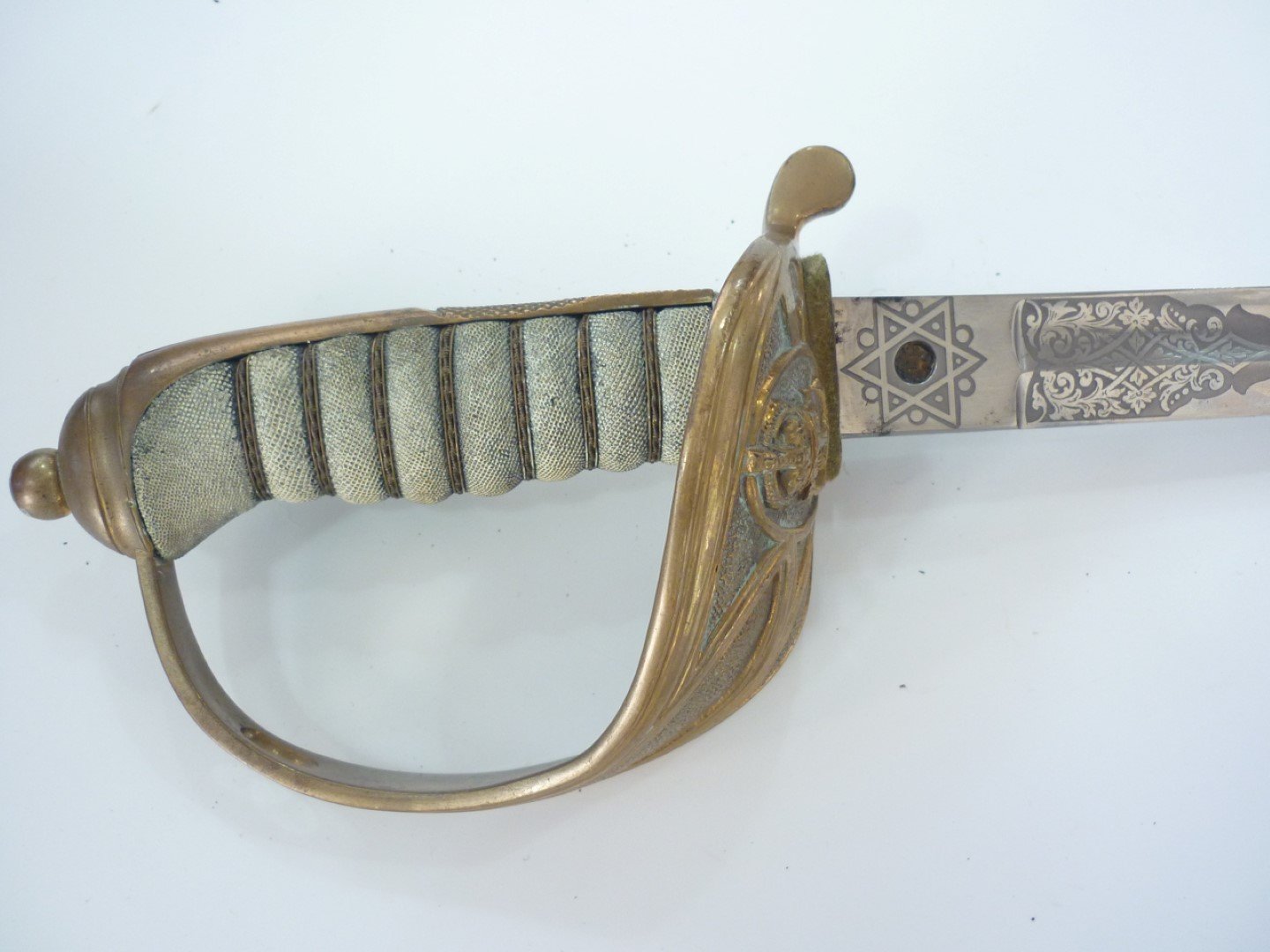Lot 95 - An early 20th Century Royal Navy officer's sword by Goodman's Navy and Army Officers' Uniform