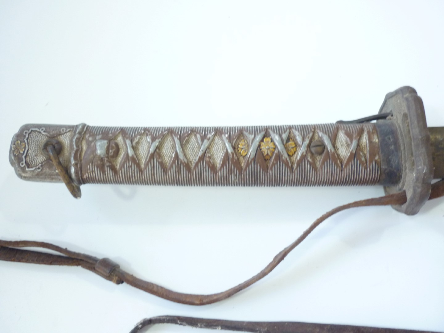 Lot 101 - A Second World War Japanese NCOs sword