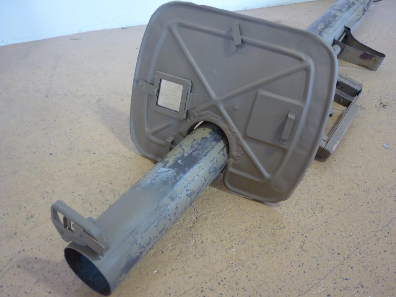 Lot 65 - A deactivated Second World War German Panzerschreck anti-tank rocket launcher, retaining much