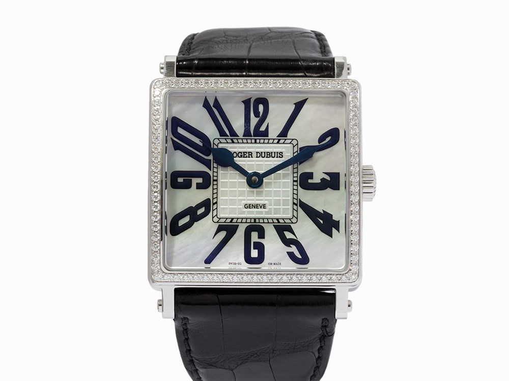 Roger Dubuis Golden Square Le Ref G40 14 0 Sd Gn1 6a C