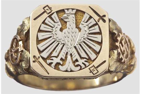 Frankfurt Am Main Goldener Ehrenring Der Stadt Des Deutschen
