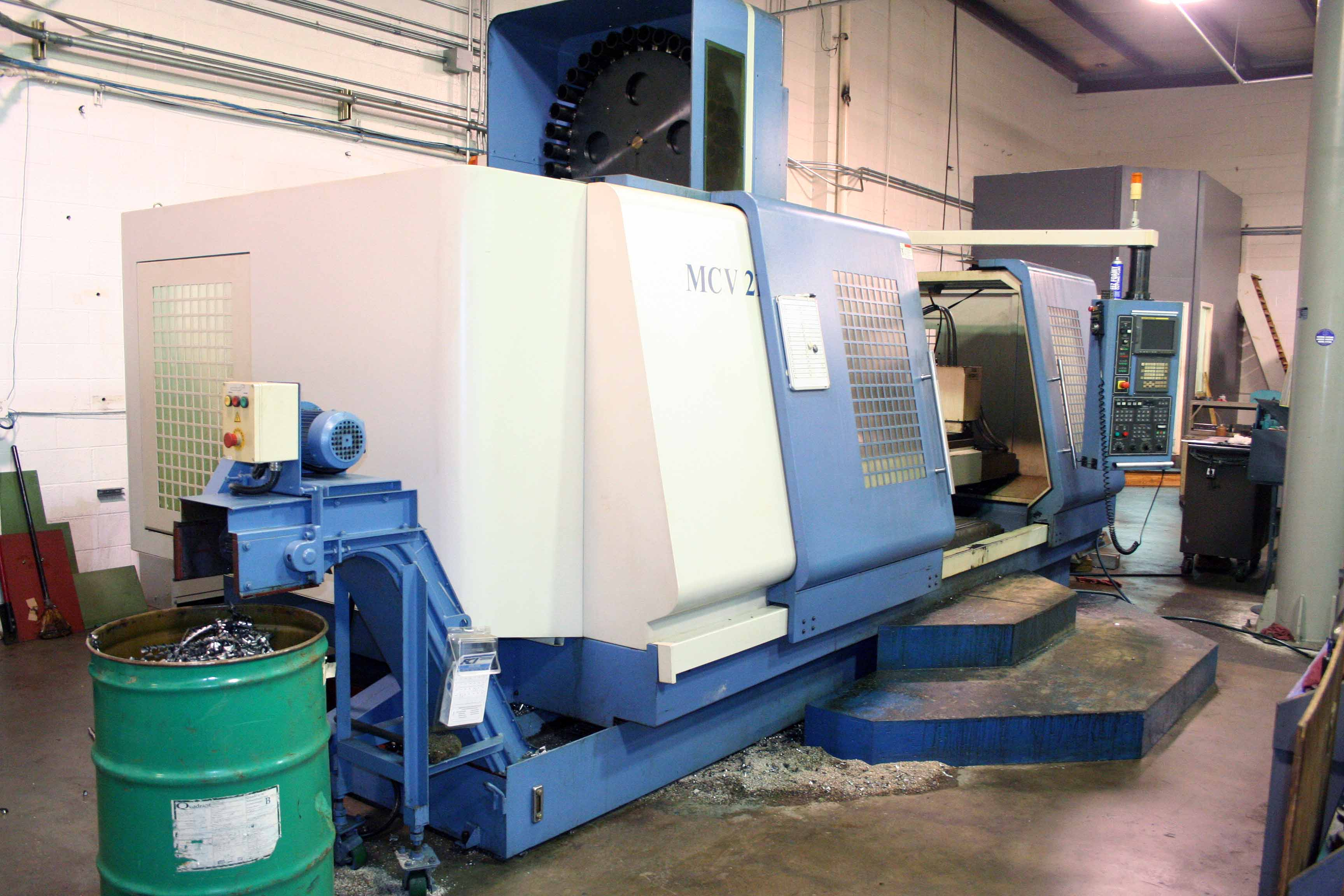 Lot 1 - CNC VERTICAL MACHINING CENTER, DAHLIH MDL. DL-MCV2100, new 2008, Fanuc Series 21i-MB CNC control,