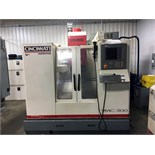 CNC VERTICAL MACHINING CENTER, CINCINNATI ARROW MDL. VMC-500, new 1999, Acramatic 2100 CNC control