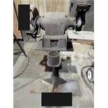 "Lot 54 - PEDESTAL GRINDER, 8"" (must be removed by April 13) (Location 10)"
