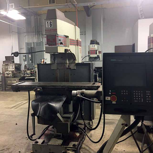 "Lot 25 - CNC VERTICAL MILL, TREE MASTER JOURNEYMAN, new 1996, 12"" x 51"" table, 30"" X, 15"" Y & 6"" Z-axis"