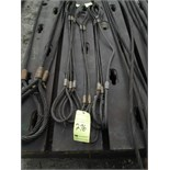 "Lot 276 - LOT OF WIRE ROPE LIFTING SLINGS (4), 1/2"" x 4' (Location 16 - this location will load for free on"
