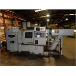 "Lot 44 - CNC LATHE, TAKISAWA MDL. DTX-3, 15"" dia. 3-jaw chuck, 8 pos. turret, Machine No. TLNN0226 (currently"
