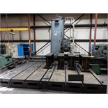 "HORIZONTAL BORING MILL, GIDDINGS & LEWIS MDL. 340-F, 10' x 14' table, work risers, 13"" x 56"" x 30"""