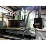 "Lot 41 - CNC VERTICAL MACHINING CENTER, OKK MDL. MCV-820, OKK Matic-G CNC control, 32"" x 72"" table, 60 pos."