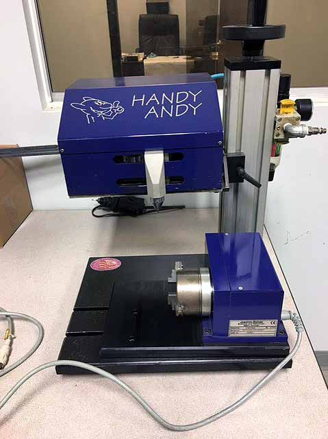 "Lot 26 - MARKING MACHINE, HANDY ANDY, .188 to 250"" set-up dist., 20 PSI to 80 PSI (Location 9)"