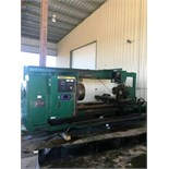 "Lot 13 - CNC LATHE, DAINICHI MDL. M-95, Fanuc 6-TB CNC control, 37.4"" max. turning dia. over bed, 22.8"""