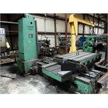 "HORIZONTAL BORING MILL, CINCINNATI GILBERT, 43"" x 62"" table (must be removed by April 13) ("