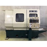 "Lot 19 - CNC TURNING CENTER, YAM MDL. CK-5, new 1986, Fanuc OT CNC control, 23.22"" swing, 15.35"" max. turning"