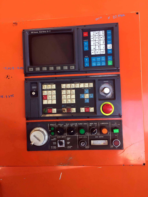 "Lot 12 - CNC LATHE, MARATHON MDL. EXCEL SL-500, new 1994, Fanuc O-T CNC control, 18"" max. turning dia., 24"""