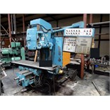 "Lot 49A - VERTICAL MILL, CINCINNATI MILACRON, Cincinnati Accra-Matic push button controls, 16"" x 80"" table,"