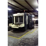 CNC HORIZONTAL MACHINING CENTER, LEBLOND MAKINO MDL. A77, new 1995, Fanuc 16MB Pro CNC control, 24.
