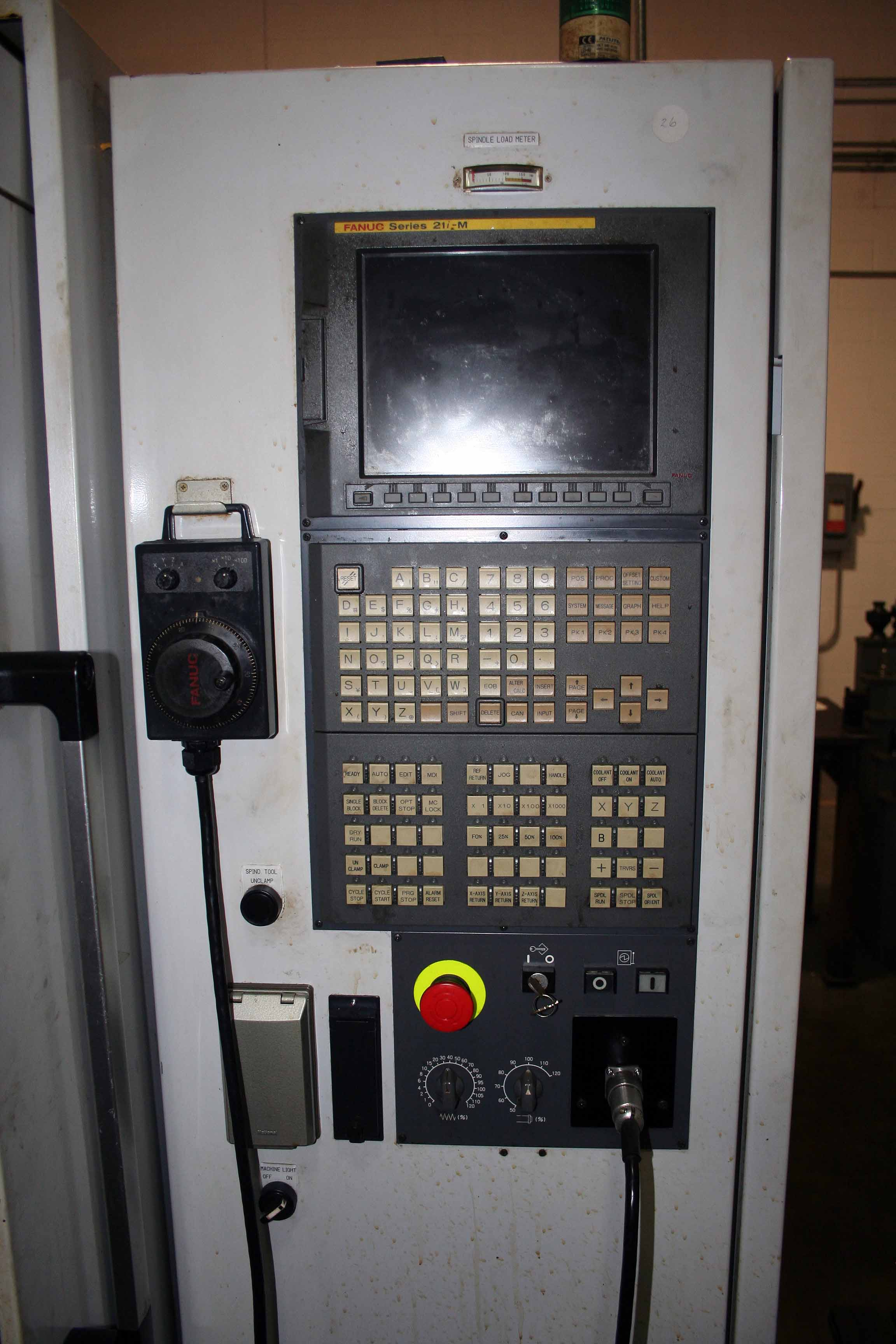 Lot 4 - CNC HORIZONTAL MACHINING CENTER/GUN DRILL, YAMASHINA SEIKI MDL. MAX40-H, new 2002, Fanuc 21i-M CNC