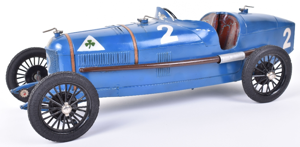 Lot 97 - Scarce 1930's CIJ (France) Alfa Romeo P2 Clockwork Racing Car