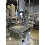 Eland drill press w/ AB switch, adjustable bed