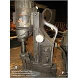 Hougen magnetic drill 120v.
