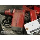 Hilti hammer drill, m/n TE125, 120v.