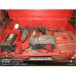 Hilti hammer drill cordless, m/n TEG-A
