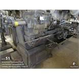 "Midland turret lathe, 15"" 3 jaw chuck, 6 tool turret holder, 60"" bed"