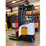 """CROWN ELECTRIC FORKLIFT RR 5200 SERIES, 240"""" HEIGHT CAPACITY, 4,500 LB CAPACITY, TILT"""
