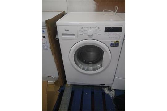 whirlpool 6th sense wwdc8146 8kg washing machine tested working and in very good condition rrp. Black Bedroom Furniture Sets. Home Design Ideas