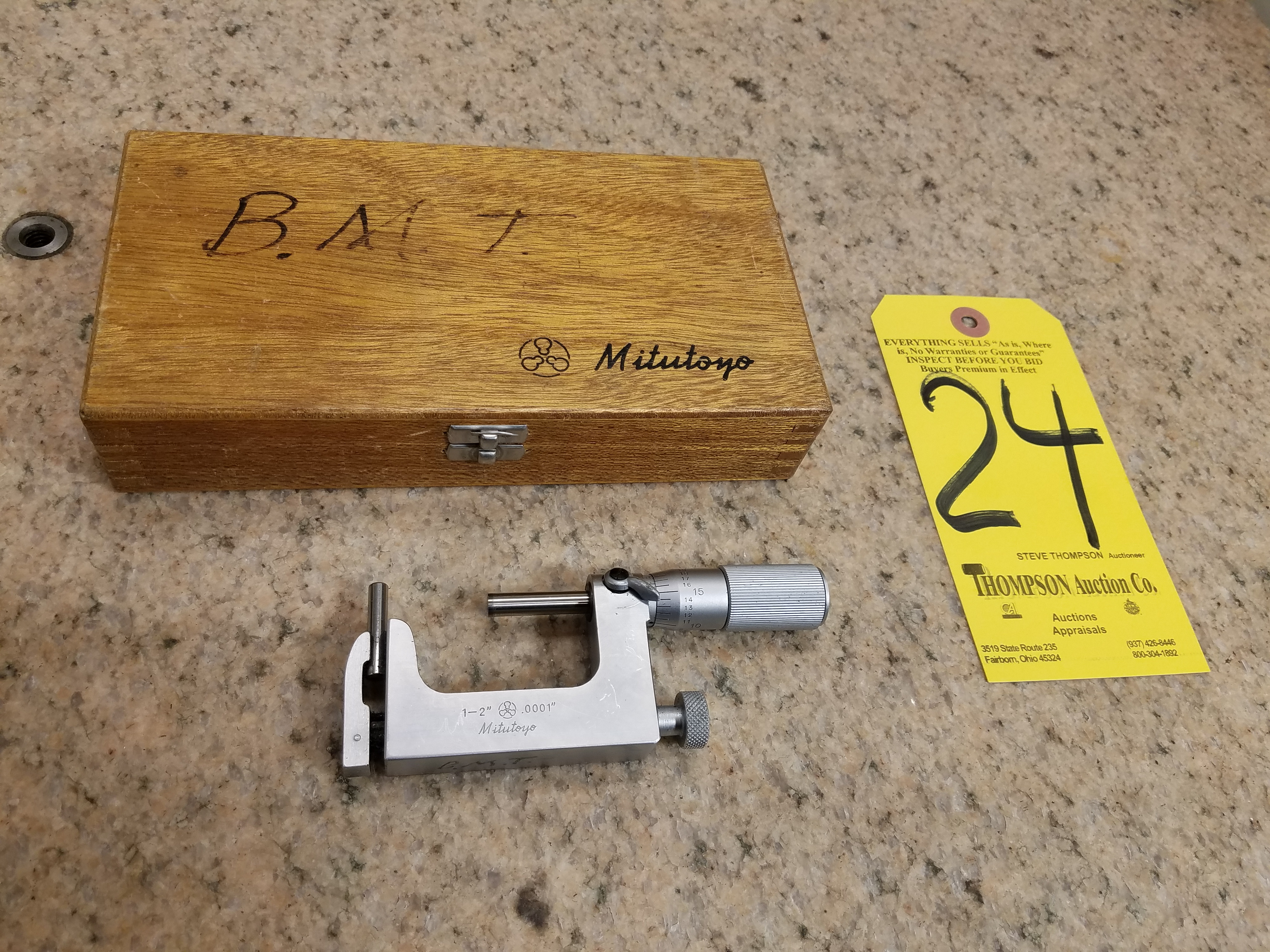 Lot 24 - Mitutoyo 1 In. -2 In. Uni-Mike Micrometer