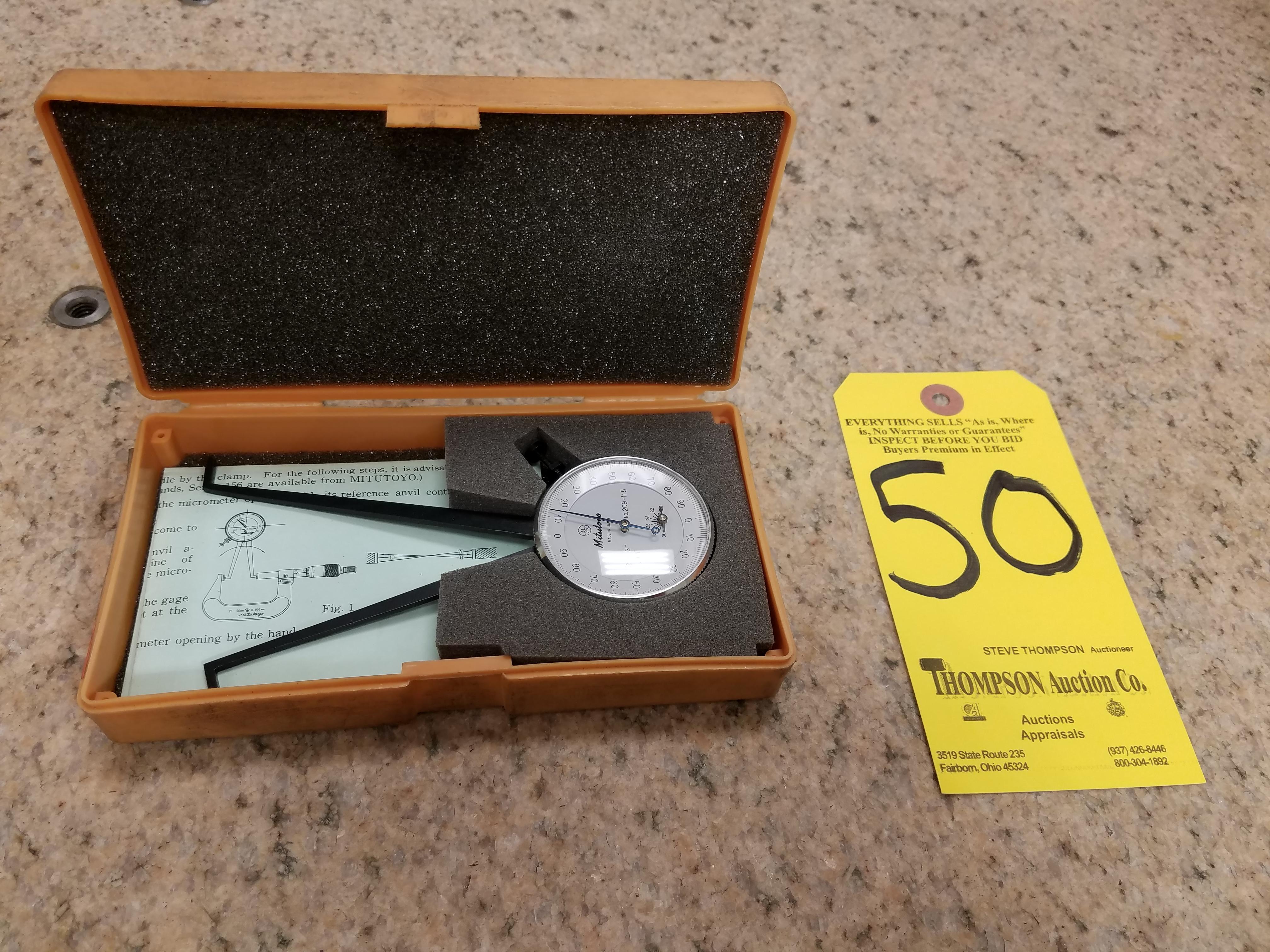 Lot 50 - Mitutoyo Dial Caliper Internal Type Gage