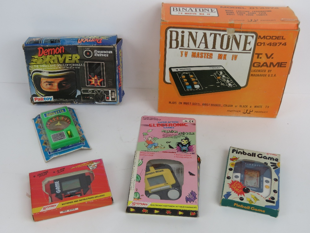 Lot 454 - A Binatone TV Master Mk IV TV game model