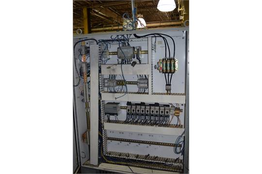 Allen Bradley Micro Logix PLC with Solar Power Supply, Rely and