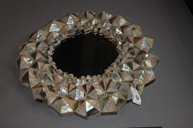 Lot 13 - Mirror Cave earthy tones and the amalgamation of the variations of textures within this mirror,
