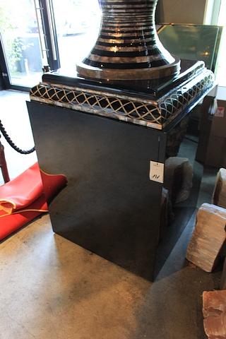Pillar Black Lacquer S2037 Big Block Black 80x80x100cm AF Cravt SKU 742623 - Image 2 of 4