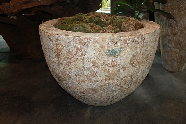 Lot 151 - Bowl MAP Coral this intricately crafted piece emanates an organic rich vibe to the surrounding,