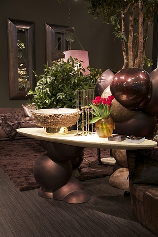 Lot 162 - Console Table Sphere is a sculptural aesthetically pleasing piece as well as an essential for any