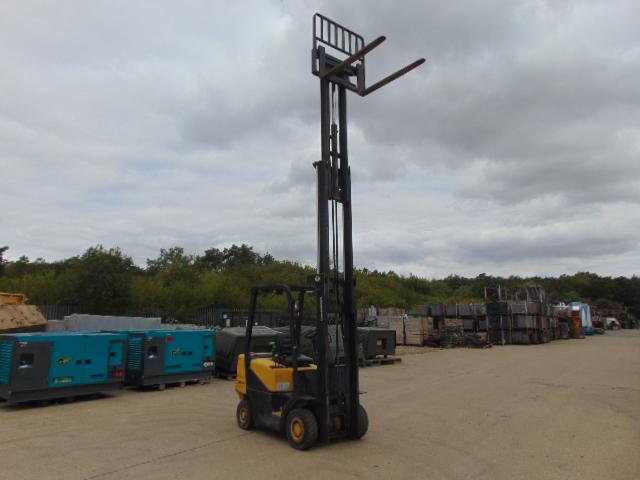 Lot 14 - Daewoo D20SC-2 Counter Balance Diesel Forklift