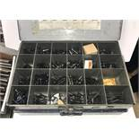 (2) Assorted Fastener Hardware Containers
