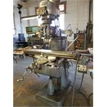 Bridgeport Series I 2HP Vertical Mill with Mitutoyo Linear Scale