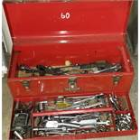 Large Tool Box Loaded with Craftsman and Other Hand Tools