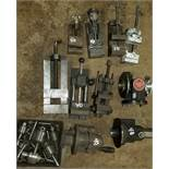 Group of 7 Machine, Milling, Precision Vices, Bussey Diving Head, Drill Press Chucks