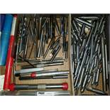Group of Metric Taps, Drills, Reamers