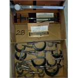 Starrett No.122 Vernier Caliper and Micrometer Group