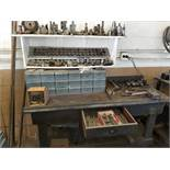 Group of Metal Lathe Accessories